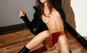 Met Art Nadya B Aliax by Rylsky Nadya shares her natural labia and puffy nipples with black heeled boots in this indoor shoot.
