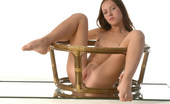 Met Art Iris A Presenting Iris by Goncharov 39640 Hot girl straddles bamboo in this indoor session.