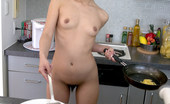 Met Art Yuka A Choushoku by Yousoudo Fun Asian model starts to cook up a little house special.