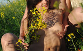 Met Art Atena A & Felisia A Fiorellini by Goncharov Out in the field two hot models kiss and get deflowered.