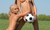 Met Art Marina C & Sandy A Soccer by Oleg Morenko Seeing sports with nude women with hot bodies running and bouncing drives me crazy.