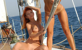 Met Art Lana F & Lidiya A Excursion by Goncharov 40716 Sailing the ocean with a small crew of naked ultra models who love to play with ropes is too good to pass up.