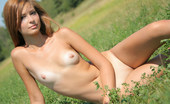 Met Art Irina J Presenting Irina by Oleg Morenko 41908 New model is outdoors and completely nude laying in the field looking for something.