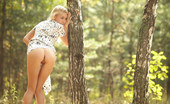 Met Art Aljena A Seeking by Dmitry Maslof Garden nymph with tiny breasts , blonde hair , and a tight little pussy prance in the woods, looking so innocent.