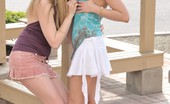 FTV Girls Anna and Amber make out in public