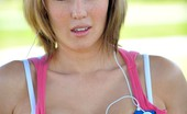 FTV Girls Sadie gets naked in the park