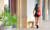 FTV Girls Shazia looks posh at the mall and flashes her ass