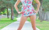 FTV Girls Eliana Eliana and the flowery dress