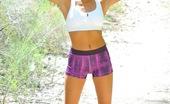 FTV Girls Michele Michele on a remote trail