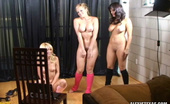Alexis Texas with Monique and Avy Lee Roth BTS