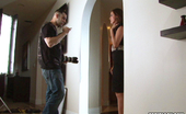 Tori Black poses for photographer in this behind the scenes photo set