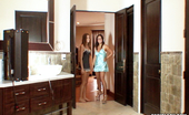 Tori Black shoots some photo sets with Eva Angelina over the weekend