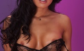 Asa Akira Asa Akira masturbates her Asian pussy Pornstar Asa Akira masturbates wearing black lingerie and stockings.