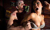 Asa Akira Asa Scream Queen Sexy superstar Asa Akira shows of some acting skills and her amazing body in this scary zombie shoot