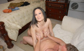 MILF Hunter Sexy milf babe gets down and dirty with a stranger here