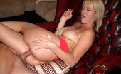 MILF Hunter This sexy blonde milf mamma takes the long rod here in these steamy pics