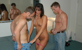 MILF Hunter Hot brunette milf getting taken from behind by the hunter