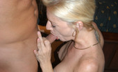 54870 MILF Hunter Blonde milf with huge rack gets introduced to the hunter by cock insertion