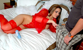 MILF Hunter Chk out these super hot red lingerie pics of austin getting her tight milf pussy pounded hard