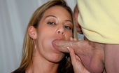 MILF Hunter Juicy rack erica grinds a hot cock then takes a facial in this hot movie and pics