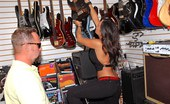 MILF Hunter Hot big tits guitar store babe sophia gets her milf pussy fucked hard in these amazing reality instore fucking pics and hot big video