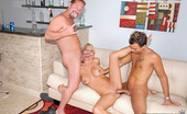 MILF Hunter Super hot big tits blonde katie stark takes on 2 cocks in this hot gang bang big tits milfy update