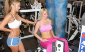 MILF Hunter Check out this hot ass workout babe get drilled in her asshole on the bench in these hot fucking pics