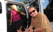 MILF Hunter Hot blonde milf gets picked up at park blows and fucks guy