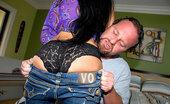 MILF Hunter Watch this amazing hot ass milf take a sausage deep in her tight sexy zipper undies