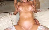 55110 MILF Hunter Smoking hot perfect long leg hot ass milfs share their 3some fantasy in this big tits blindfolded cumfaced sex 3some adventure
