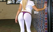 MILF Hunter Blond milf bigtits bigass gets picked up and banged at her house horny milf babe