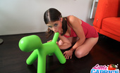 Little Caprice Caprice rides cock Skinny and tight Caprice rides cock as reverse cowgirl