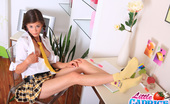 Little Caprice sexystudent Camel-toe pictures of sexy 18yo schoolgirl Caprice