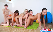 Little Caprice pics_crazygirls11 Insane group sex party with several 18yo girls!