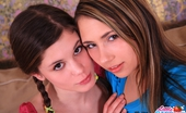 Little Caprice pics_petiteteens Two girls fuck the same dildo at the same time!