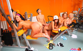 Little Caprice pic_gymsex04 4 fitness chicks fuck coach in gym