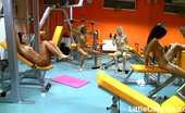 Little Caprice pic_gymsexcaps06 Little Caprice & her girlfriends working out naked