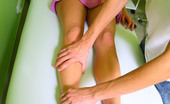 Little Caprice pic_oilmassage05 Caprice penetrated in all holes on the massage table