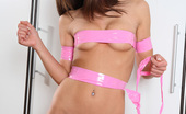 Little Caprice capr_picstripe03 Hot pictures of tied teen Caprice penetrating her pussy