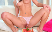 Little Caprice capr_picmelon03 Caprice fucks watermelon! Must see video and pictures!