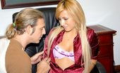 8th Street Latinas yeni Super blonde latina yeni gets her hair pulled doggy style