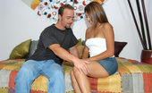 8th Street Latinas sofia Cute amateur latina takes her first american facial here in these pics