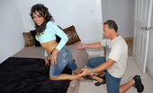 8th Street Latinas ryan Super hot latina with perfect cinnamin buns picked up at the mall gets her sweet little pussy fucked hard in these hardcore pics