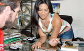 8th Street Latinas virginia Amazing beautiful latina virgina gets fucked on the job in trade for some hot wheels in these banging office fuck pics