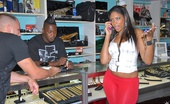 8th Street Latinas carmen Hot ass big booty latina was spotted in a pawn shop trying to make money so offered some in return for her ass