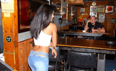 8th Street Latinas jasmine Check out this super hot latina get fucked hard agasint the wall in these hot reality bar fuck pics