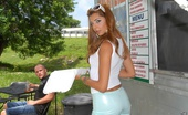 8th Street Latinas rio Smoking hot long leg hot ass latina gets drilled hard in her hot hot dog lunch stand check out these hot reality pics