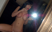 Bryci takes some mirror shots naked with a lollipop!