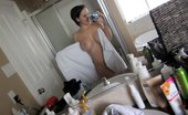 58485 Bryci takes pics of herself naked in the bathtub!