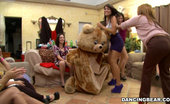 Dancing Bear These girls love a mouthful of warm cum from these strippers!